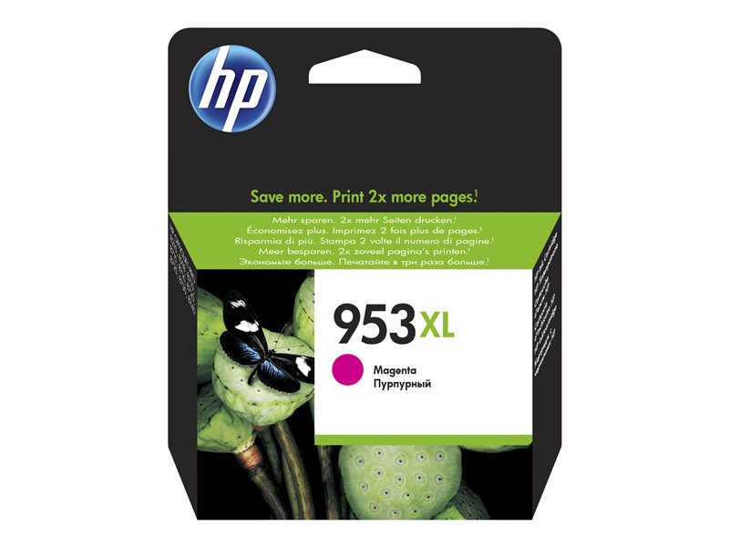 HP 953XL - hoog rendement - magenta - origineel - inktcartridge