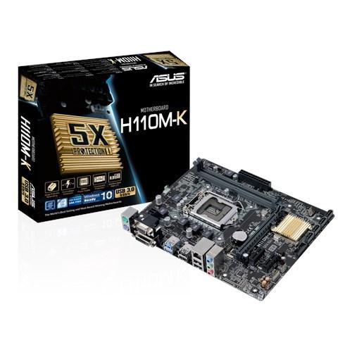 Asus H110M-K 1151 DDR4 Micro atx USB 3,0