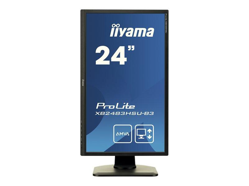 IIYAMA XB2483HSU-B3 24 inch 4ms 1920x1080 6ms HDMI, VGA, DisplayPort