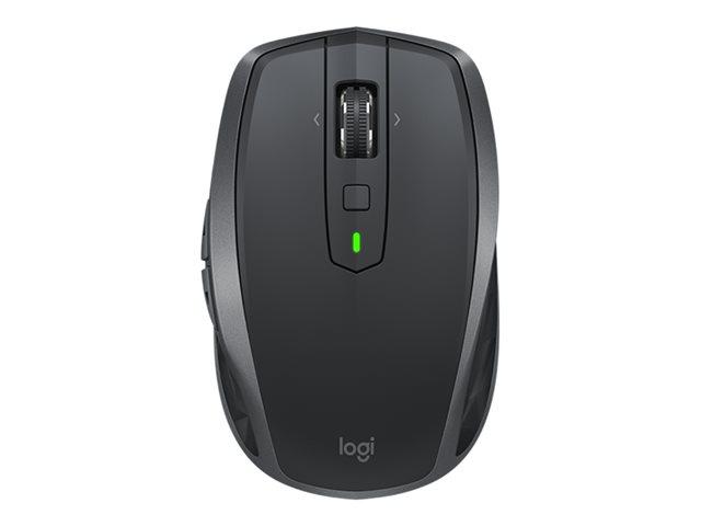 Logitech MX Anywhere 2S - muis - Bluetooth,2.4 GHz - grafiet