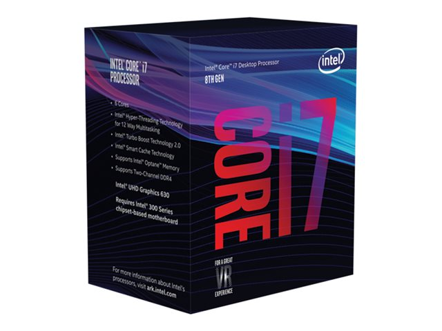 Intel Core i7 8700 65W 3,2 GHz / BOX