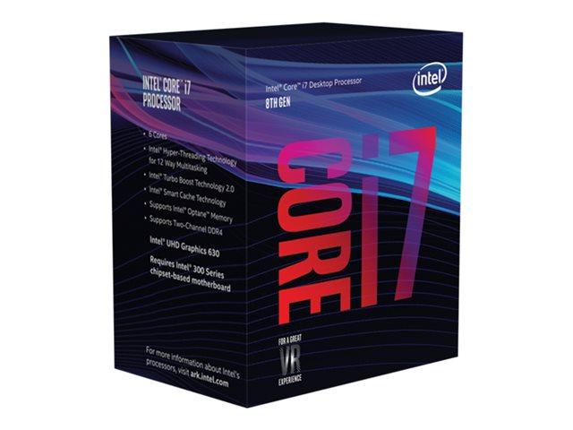 Intel Core i7 8700K 65W 3,7 GHz / BOX