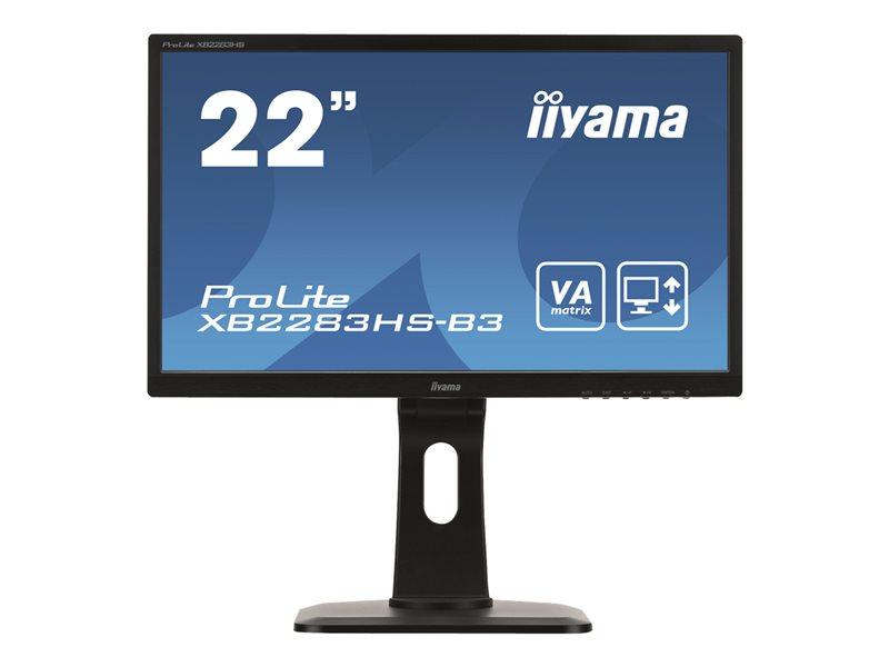 Iiyama ProLite XB2283HS-B3 - LED-monitor - Full HD (1080p) - 22