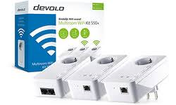Devolo dLAN 550+ Multiroom WiFi 550 Mbps 3 adapters  DEV-8206
