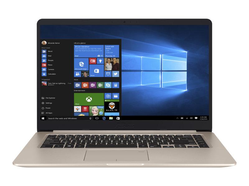 ASUS VivoBook S15 S510UN BQ256T - 15.6- Core i5 8250U - 8 GB RAM - 256 GB SSD + 1 TB HDD