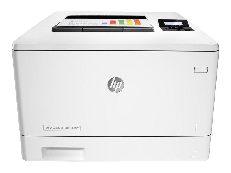 HP Color LaserJet Pro M452nw - printer - kleur - laser