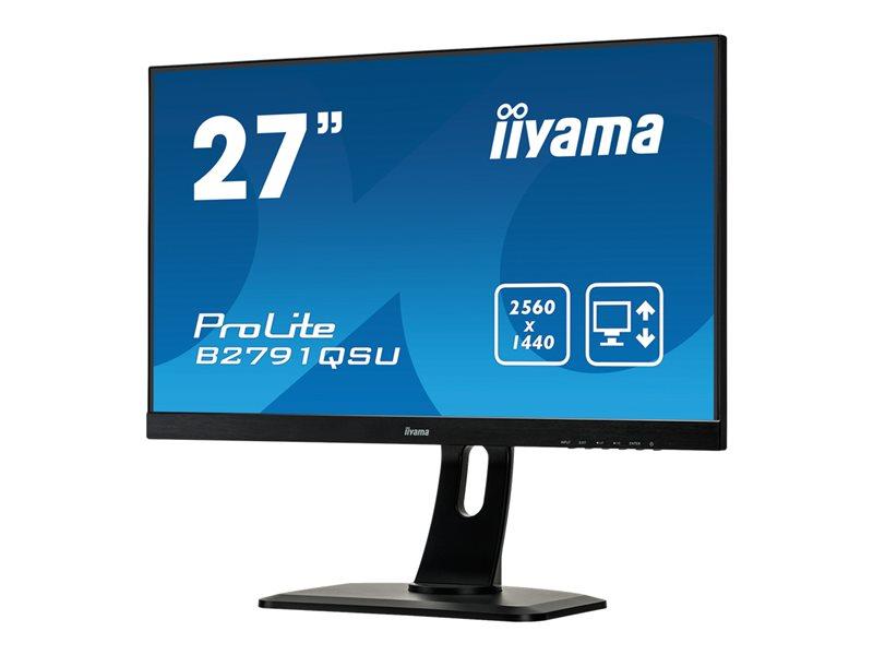 Iiyama ProLite B2791QSU-B1 27 2560 x 1440 1440p 1 ms HDMI, DVI, DisplayPort luidsprekers