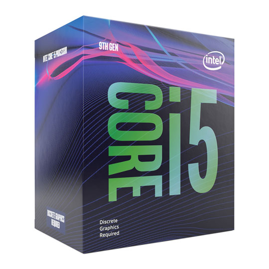 Intel Core i5 9400F 2,9GHz LGA 1151 65W BOX no gpu