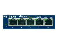 Netgear -  GS105 5p 10/100/1000  Gigabit Compact Switch