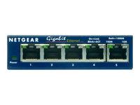 Netgear -  GS305 5p 10/100/1000  Gigabit Compact Switch