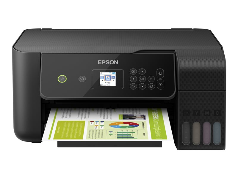 Epson EcoTank ET-2720 Multifunctionele printer kleur inktjet A4 usb + wifi