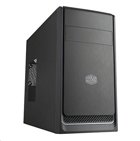 Cooler Master MasterBox E300L zwart/zilver