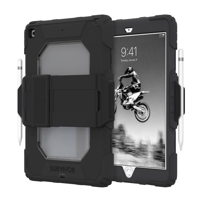 GRIFFIN Survivor All-Terrain for iPad 10.2 7th & 8th Gen. compatible Black