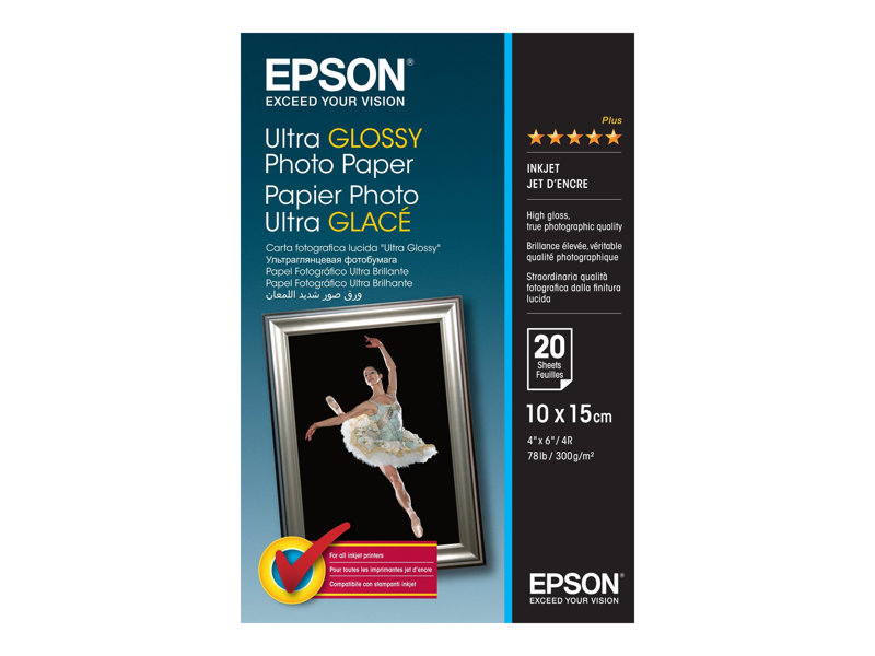 Epson Paper/Ultra Glossy 100x150mm 300gm2 20sh