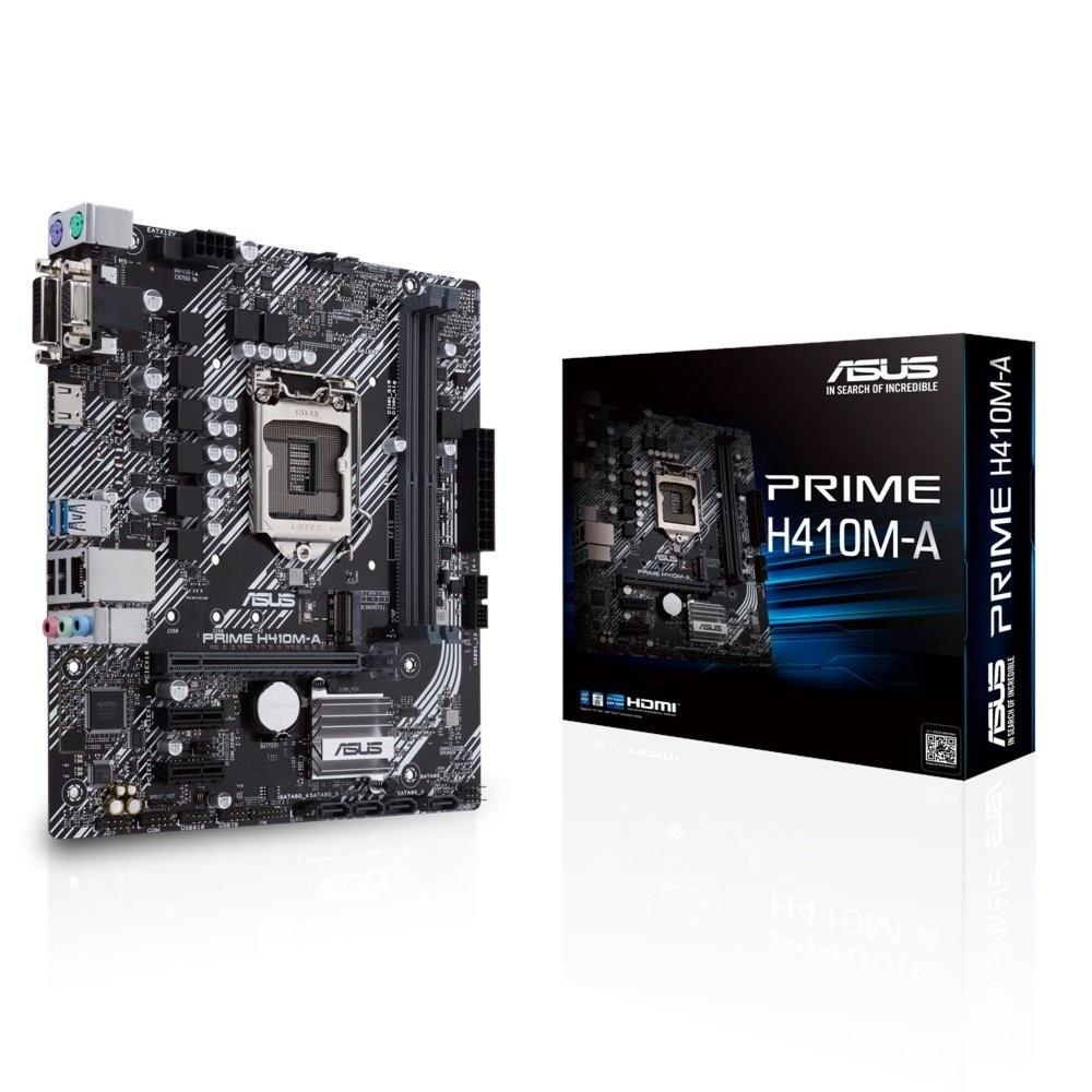 Asus Prime H410M-A  2 x DDR4  PCI-E  LGA1200  mATX