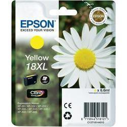 Epson 18XL (T1811) inktcartridge Geel hoge capaciteit (origineel)