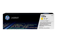 HP 131A - CF212A - toner cartridge - 1 x yellow - 1800 pages - for LaserJet Pro 200 color M251n, 200 color M251nw, 200 color MFP M276n, 200 color MFP M276nw