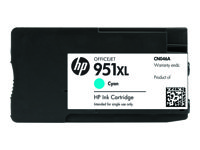 HP 951XL - CN046AE - print cartridge - 1 x pigmented cyan - 1500 pages - for Officejet Pro 8100, 8600, 8600 N911a
