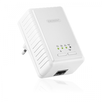Eminent Powerline Adapter 500Mbps met 300Mbps WiFi