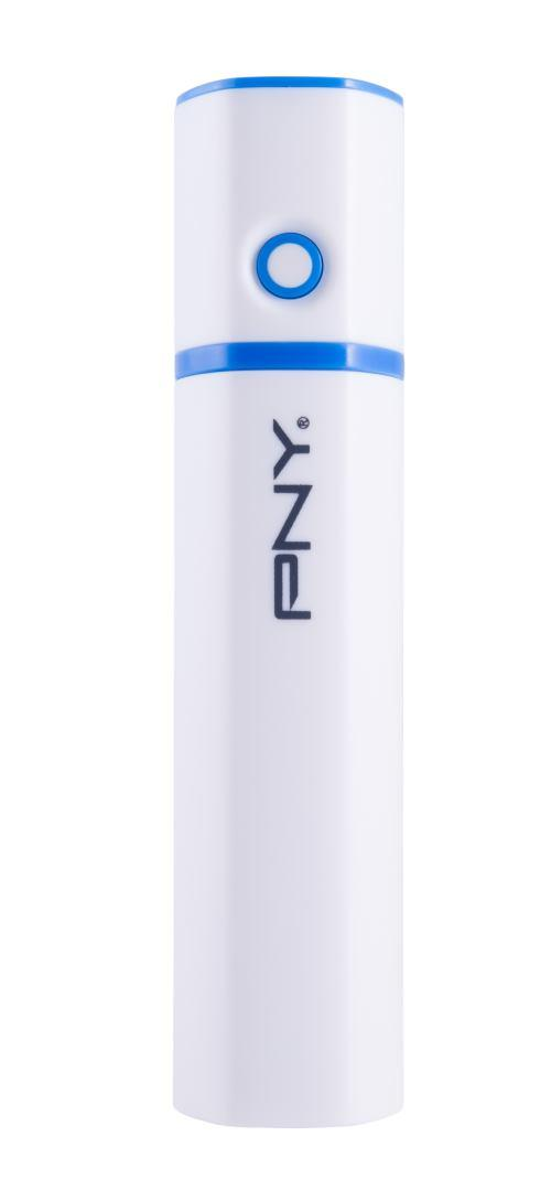 PNY POWERPACK 2600 Lit-Ion 2600MAH ALU 1x MICRO-USB to USB cable for charging your Apple,tablets,mobile phones