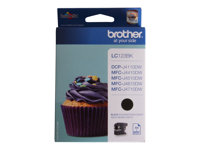 Brother LC123BK - Print cartridge - High Yield - 1 x black - 600 pages - for DCP J132, J152, J552, J752; MFC J245, J4310, J470, J4710, J650, J6520, J6720, J6920, J870